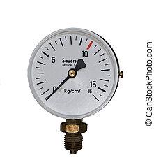 used oxygen pressure gauge
