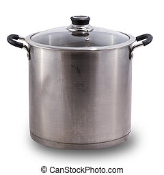 Used stock pot