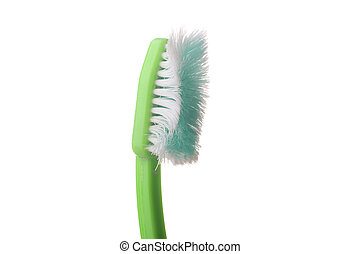 Used tooth brush