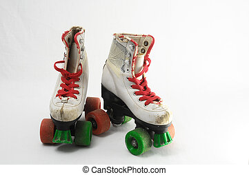 Consumed Roller Skate - Used Vintage Consumed Roller Skate ...