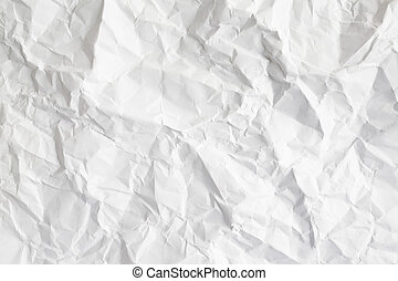 Used white paper