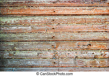Used wooden plank background, blank texture