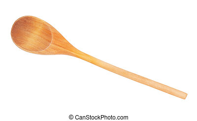 Used wooden spoon