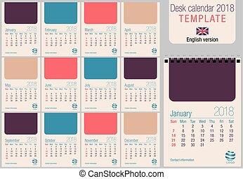 november 2018 calendar spanish