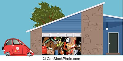 Useless garage