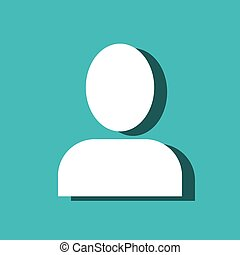 user figure avatar isolated icon