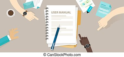 user guide manual instruction book document paper reference