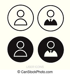 User icon set