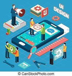 User interface design concept symbols layout - User ...