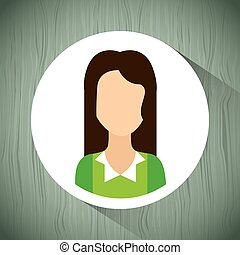 user profile design - user profile design, vector...