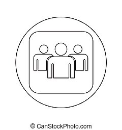 User sign icon illustration design