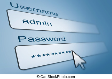 username, browser, login, passwort, internet
