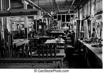 usine, orgue