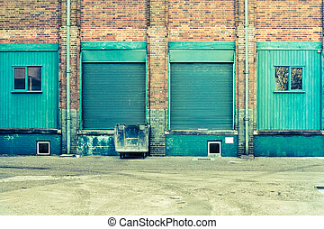 usine, portes