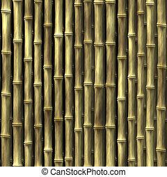 usines, bambou, papier peint
