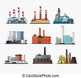 usines, puissance
