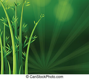 usines, vert