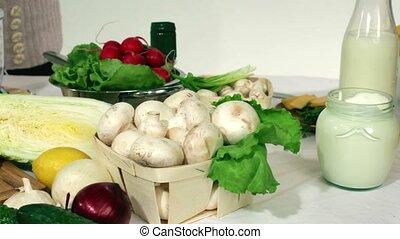 Using A Food Processor For Salads