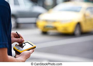 Using a Handheld GPS