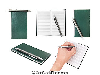 Using a notebook