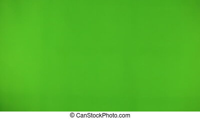 Using a Smart Phone with a Green Screen isolate green...