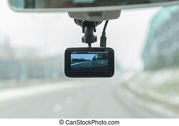 Using dashboard camera in the car - Using dashboard camera ...