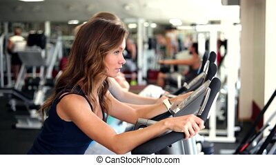 Using Exercise Bikes