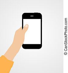 Using Online Services Concept Flat Vector Illustration