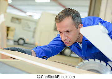 using table saw
