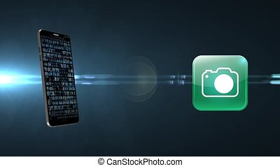 Using the camera on your phone. - Using the camera on your...