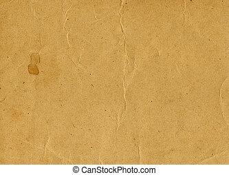 uso, antigas, maio, papel, fundo, textura