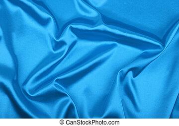 uso, blu, liscio, elegante, fondo, lattina, fondo, seta