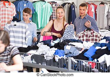 uso, hijo, tienda, escoger, venta, madre, espacio libre