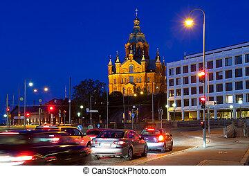 Uspensky cathedral in Helsinki - Uspensky cathedral in...