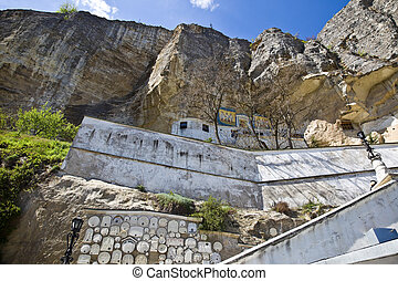Uspensky Cave Monastery - Cut in the rock Orthodox monastery...