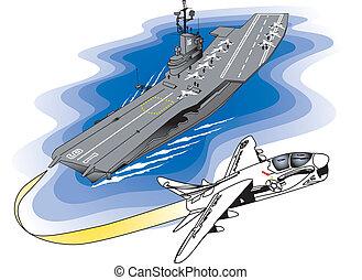 aircraft carrier - USS Lexington aircraft carrier