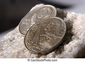 ussr, 1, rubel, mynt