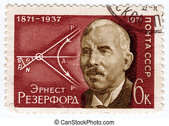 USSR - CIRCA 1971: stamp printed in USSR (now is Russia), ...