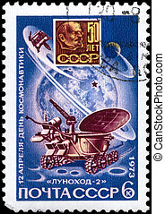 USSR - CIRCA 1973 Lunokhod 2