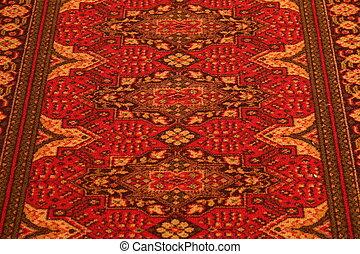 USSR. Classic Arabic Pattern. Asian Carpet Texture