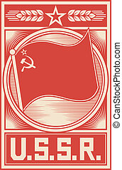 ussr poster (soviet union poster)