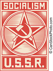 ussr poster