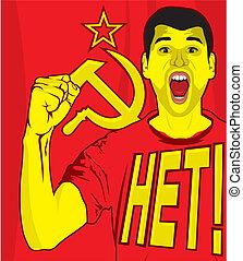 ussr soviet poster