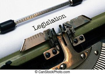 ustawodawstwo