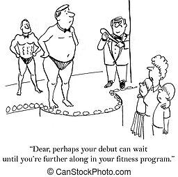 usted es, programa, condición física, más lejos, por, hasta,...