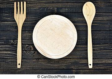 ustensiles, table cuisine