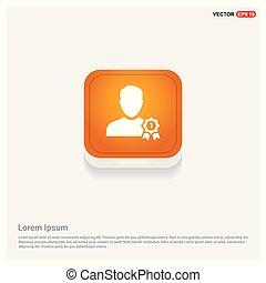 usuário, distinção, ícone
