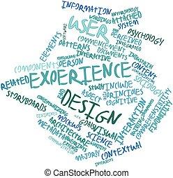 usuário, experiência, desenho