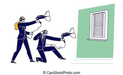 usure, agents, écouter aux portes, caractères, femme, formel...