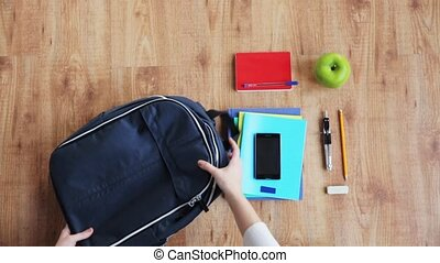 uszczelka, siła robocza, schoolbag